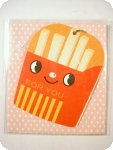 Fries mini all purpose card